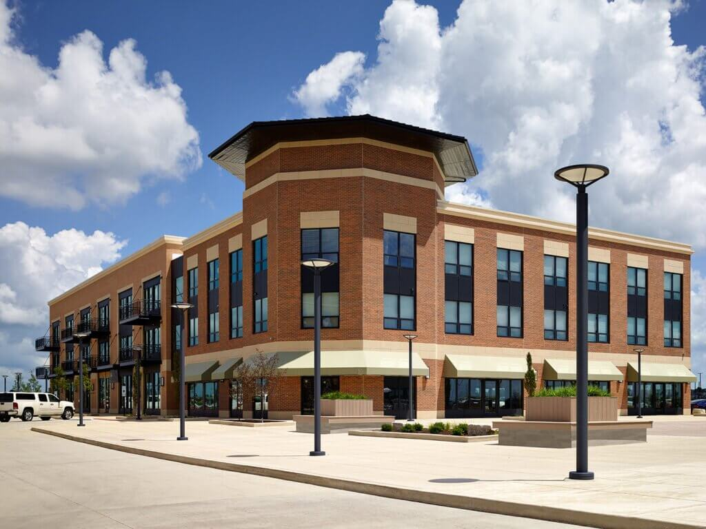 brick retail construction