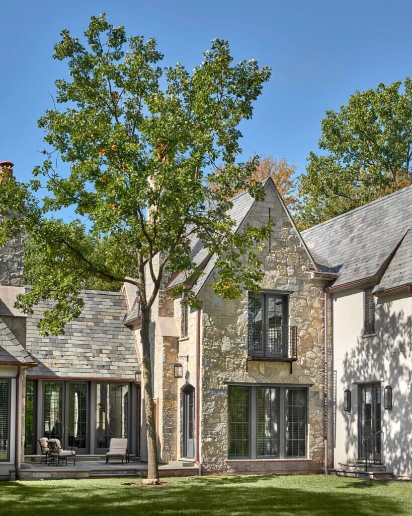 stone home residential design