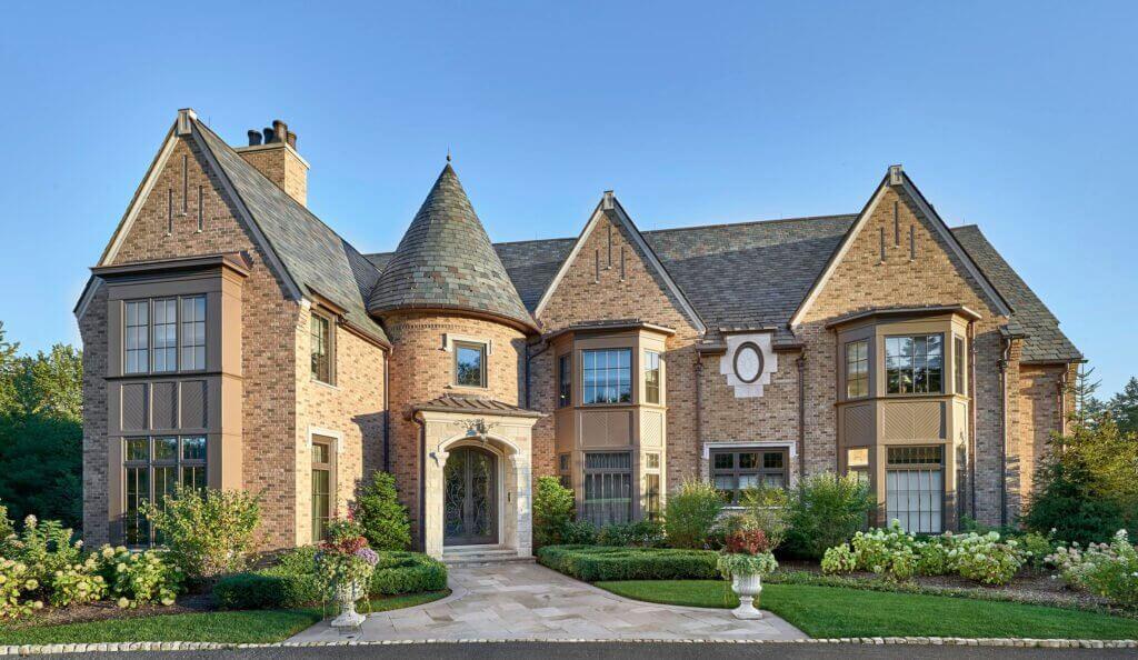 brick home residence design